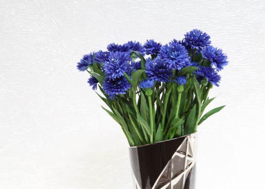 FIORDALISO 21,5''.2FG,1BUD BLUE 701 CM.. MIN 24