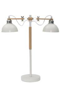 LAMPADA DA TAVOLO STADIUM BIANCA CM 52X18X60