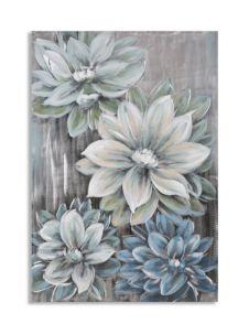 DIPINTO SU METALLO FLOWER -A- CM 70X3,5X100
