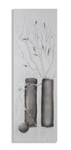 DIPINTO SU TELA WINTER TREE CM 50X3X150