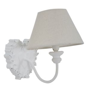 LAMPADA DA MURO SHABBY -E- CM 17X17X23