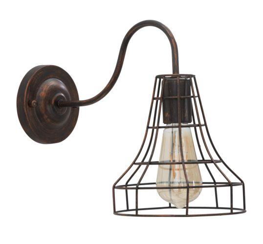 LAMPADA DA MURO INDUSTRY -A- CM 34X18X27 MIN 2