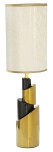 LAMPADA DA TAVOLO CERAMICA GLAM TOWER CM Ø 20X68,5