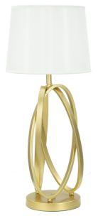 LAMPADA DA TAVOLA GLAM CIRCLE CM Ø 30X70