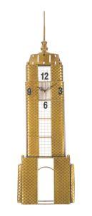 OROLOGIO DA MURO EMPIRE BUILDING CM 23,5X6,5X78